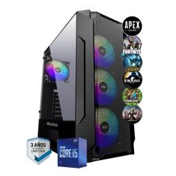 PC Gamer Intel Core i5 10400f 8Gb Ddr4 2666Mhz Ssd 240G Gtx 1050 Ti 4Gb Gddr5 Hdmi Wifi W10