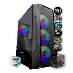 PC Gamer AMD Ryzen 3 3200G 16Gb 2666Mhz Ssd 480Gb Rx550 4Gb Gddr5 Wifi HDMI Incluye Juegos